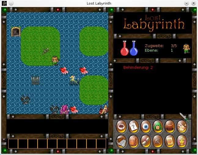 Lost Labyrinth - RogueBasin